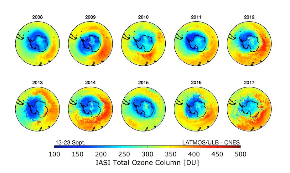 30 ans du protocole de montr al retour sur le sauvetage de la couche d ozone - Trou de la couche d ozone ...