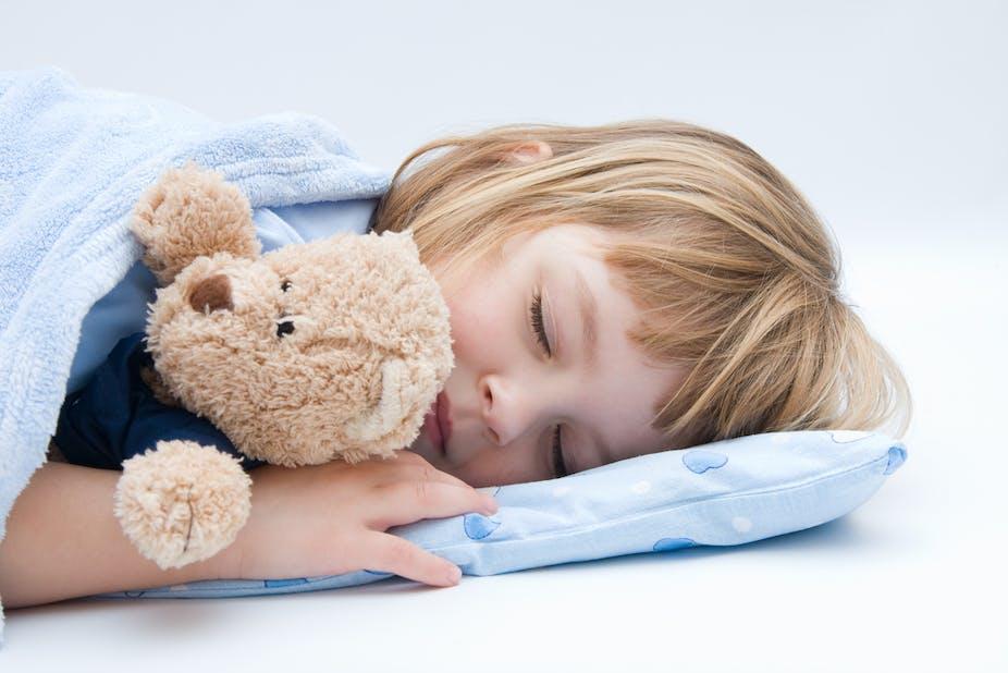 Sleep Training  Year Old In Bed