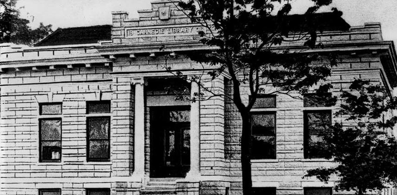 What hundreds of American public libraries owe to Carnegie's