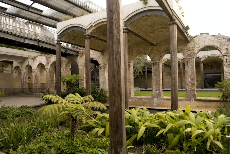 Sustainable re-use and recycling work for heritage buildings and places too