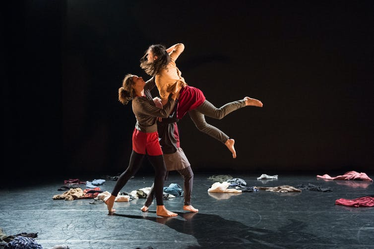 Engineers could learn a lot from dance when designing urban transport ellie cosgrave with scatter the places adult dance company hayley madden author provided malvernweather Choice Image