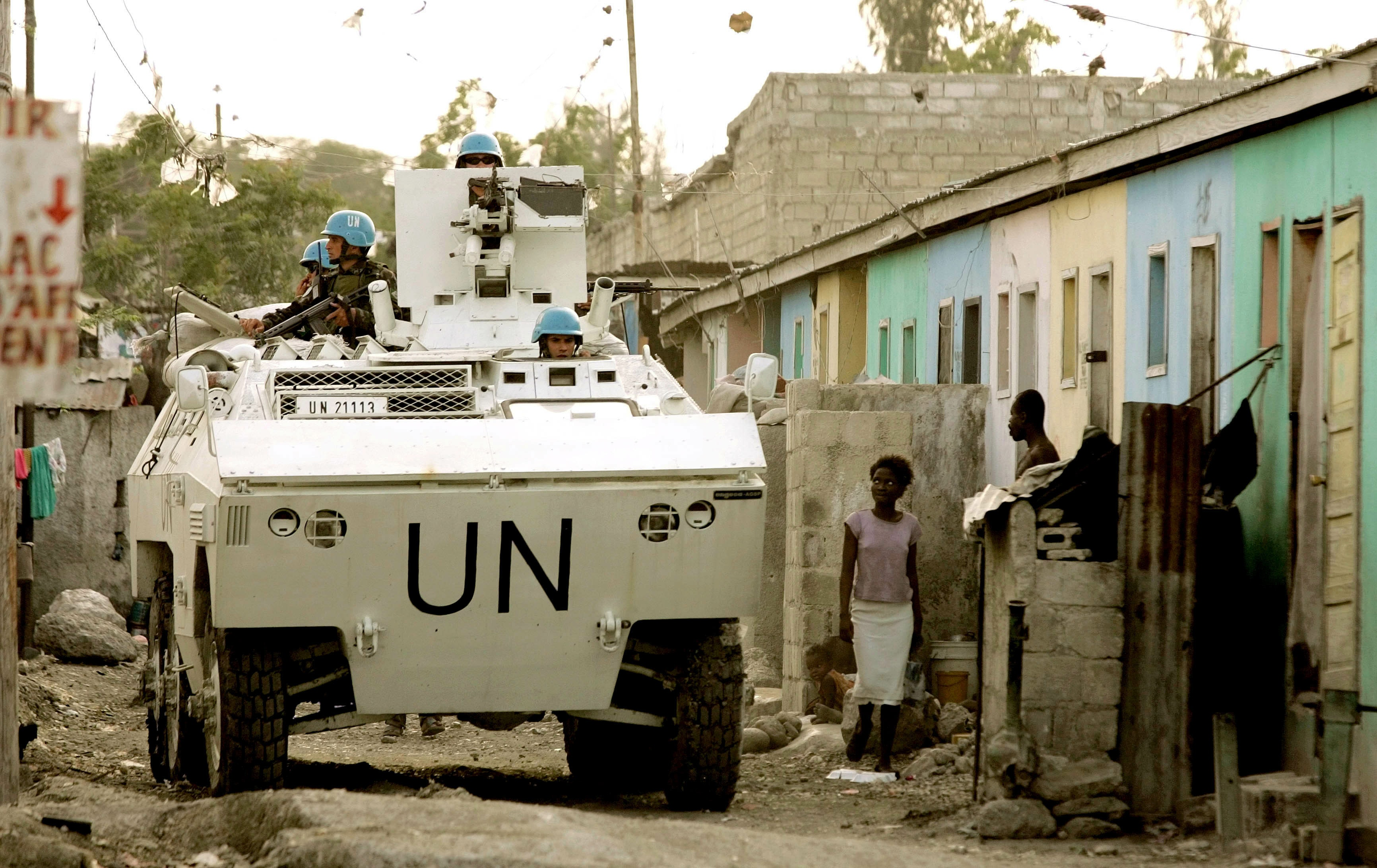 Sent to Haiti to keep the peace, departing UN troops leave a damaged nation in their wake