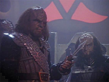 Klingons, the next generation