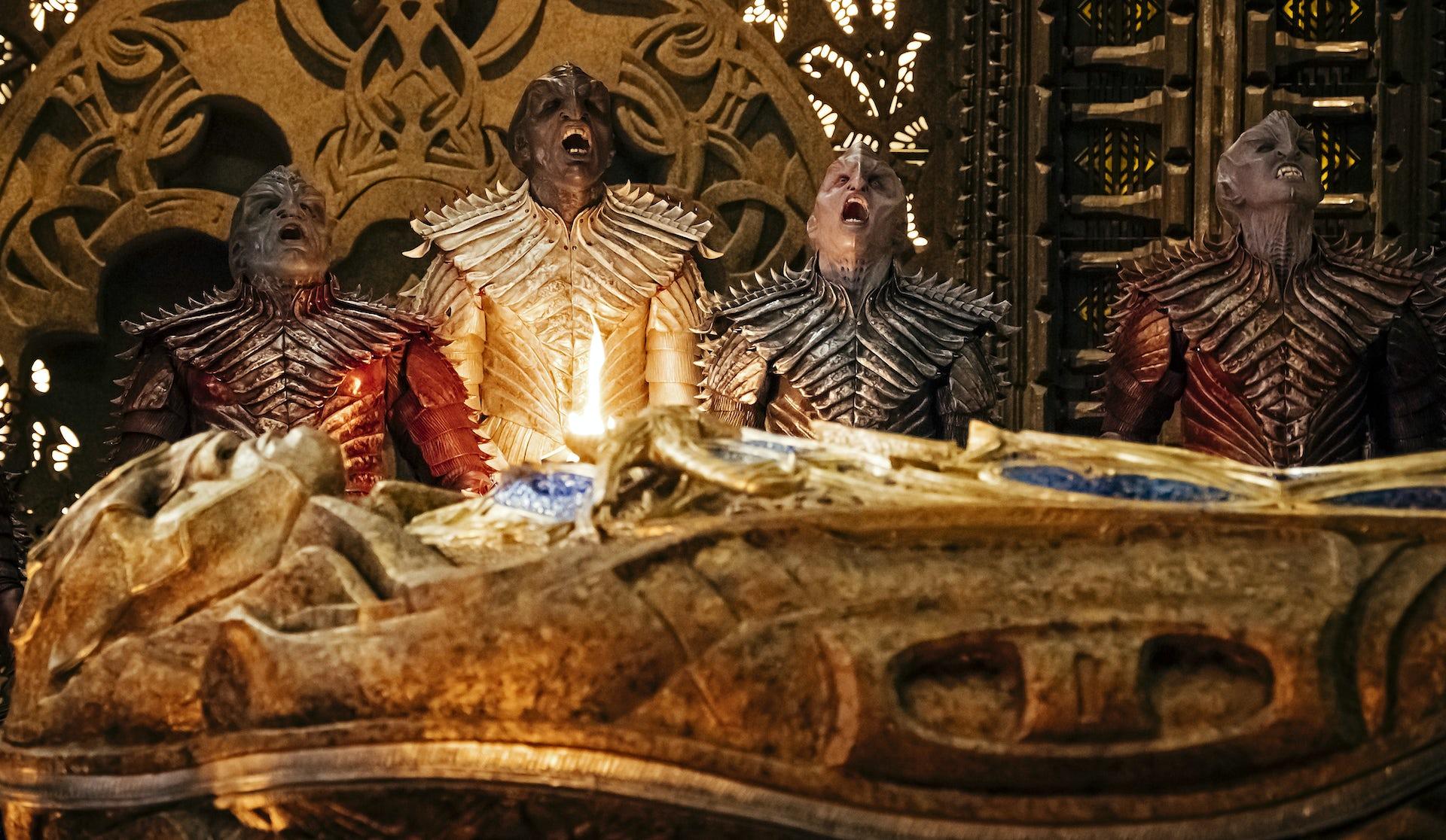 A ship of klingons