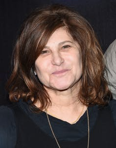 Amy Pascal: film producer and former head of Sony Pictures Entertainment.