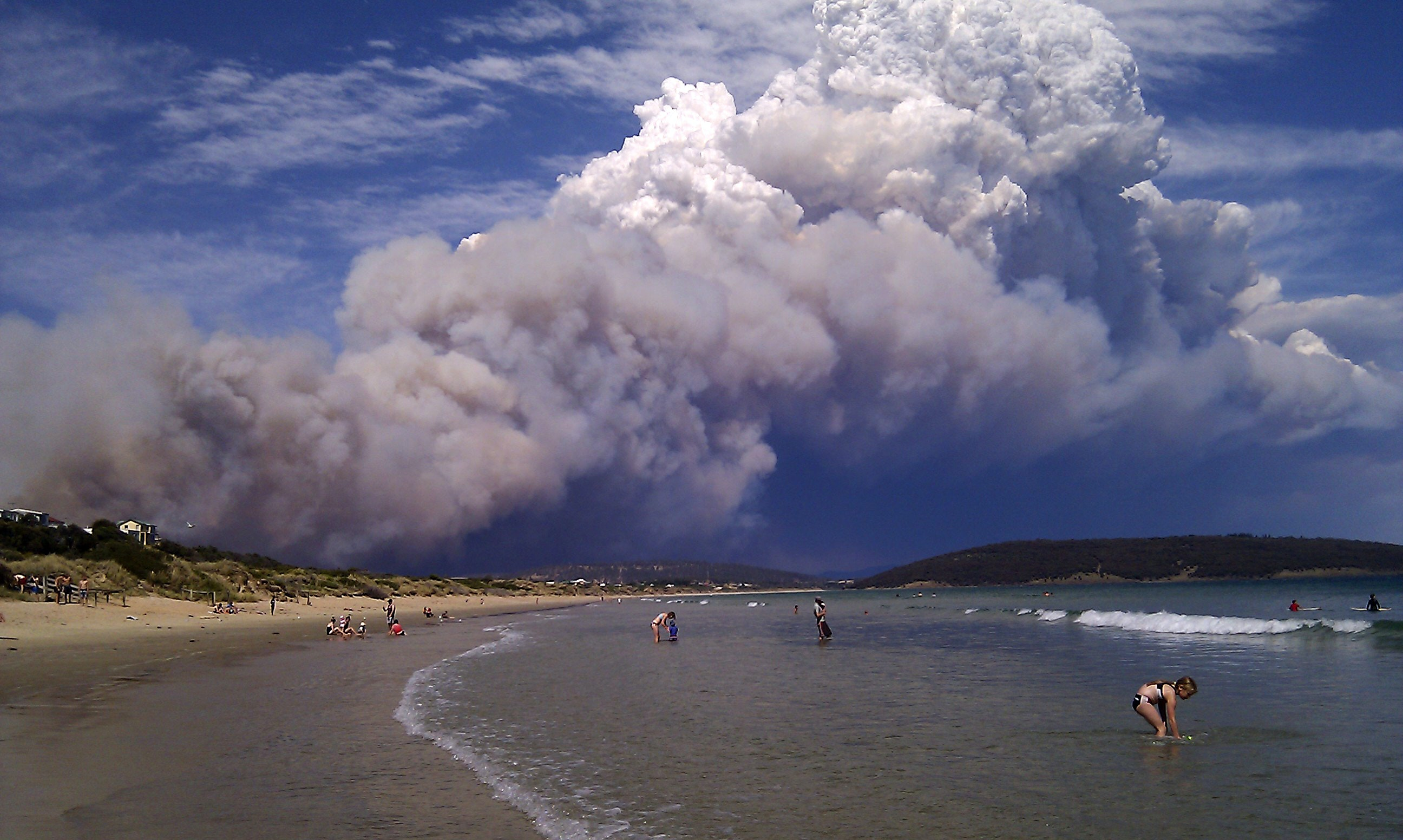 Smoke from bushfires poses a health hazard for all of us