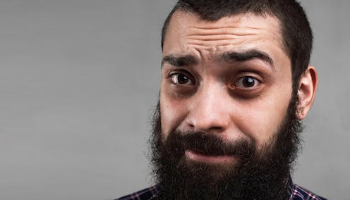 Men with beards have been called terrorists.