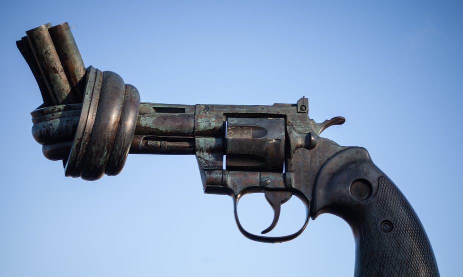 Why is there so little research on guns in the US? 5