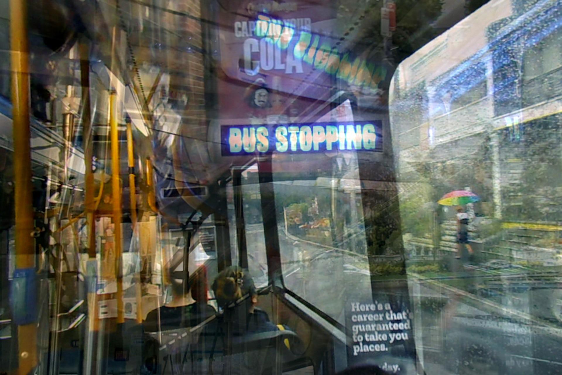 A still from Dawn-joy Leong's installation An Olfactory Map of Sydney.