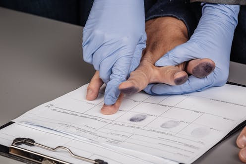 Fingerprinting to solve crimes: not as robust as you think