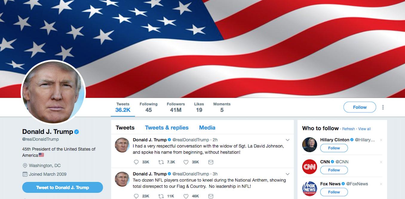 Is @realDonaldTrump addicted to Twitter?