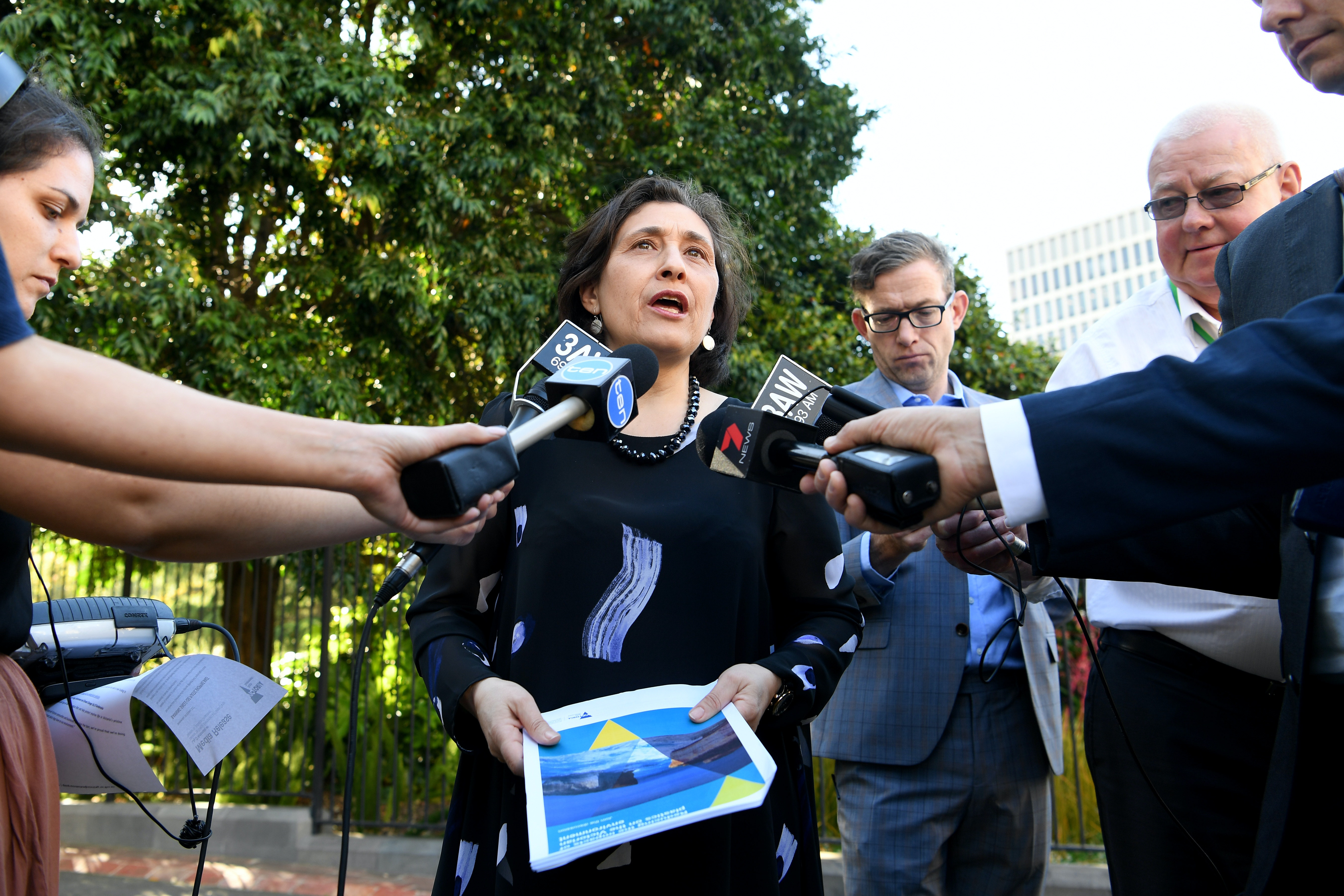 Picture of Victorian Environment Minister Lily D'Ambrosio