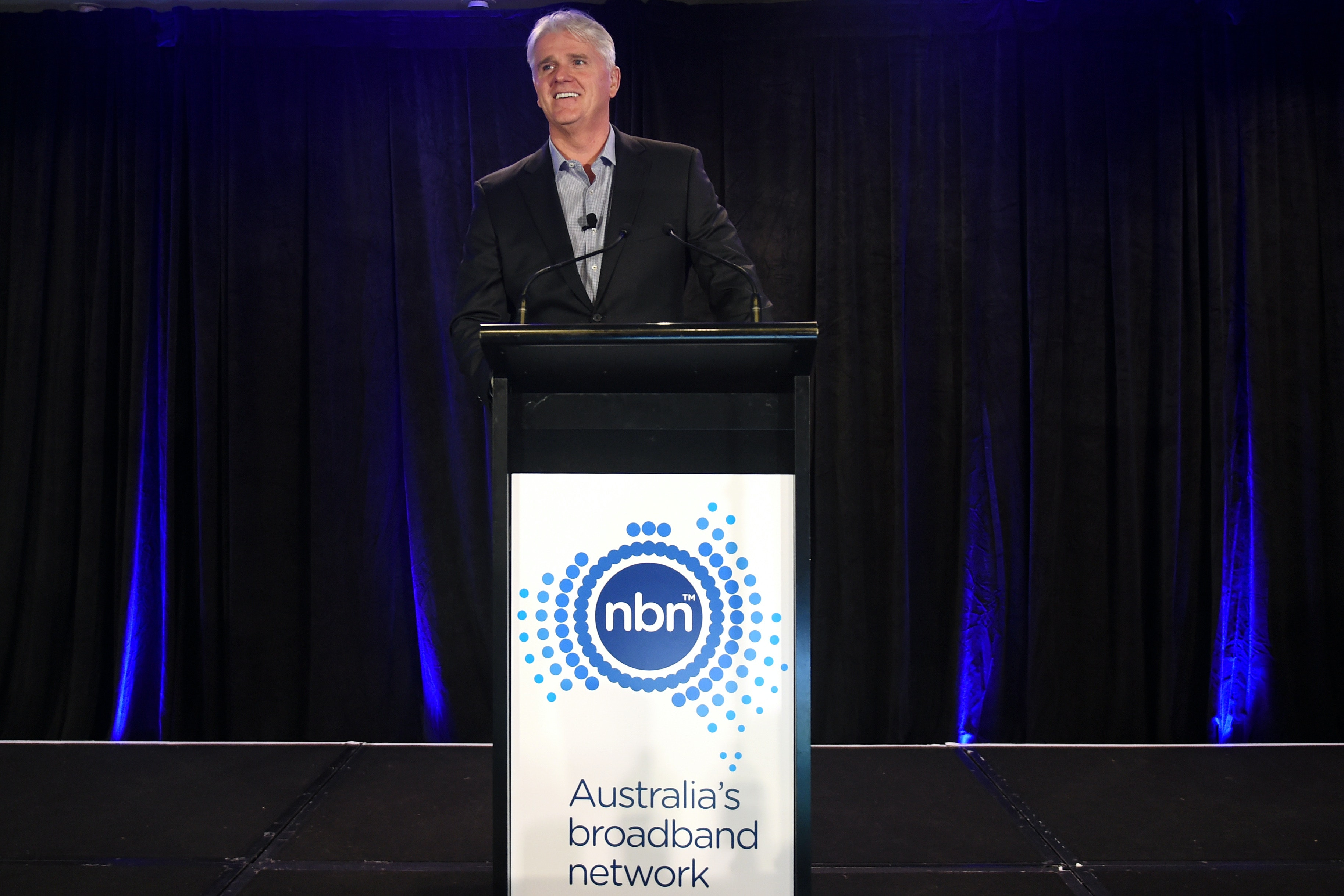 Picture of NBN Co chief executive Bill Morrow