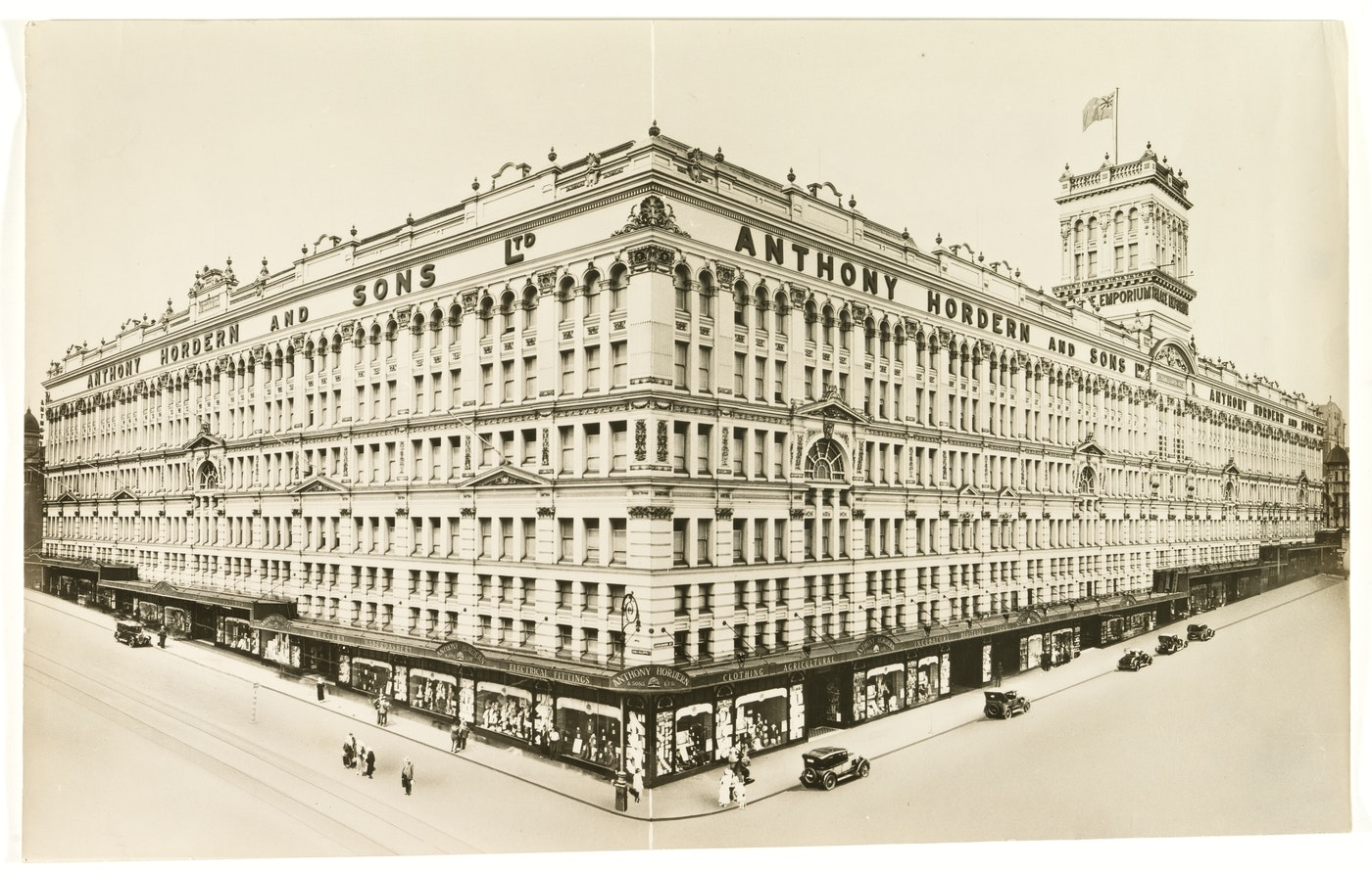 Picture of Anthony Hordern and Sons department store