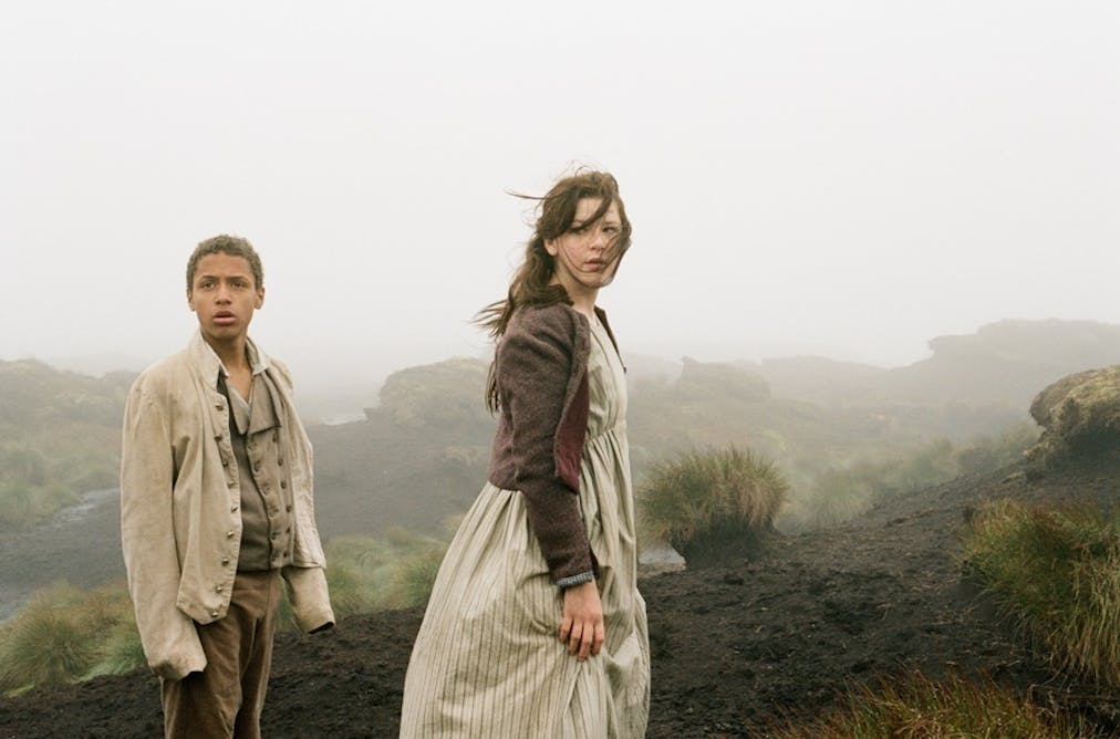 violence in wuthering heights
