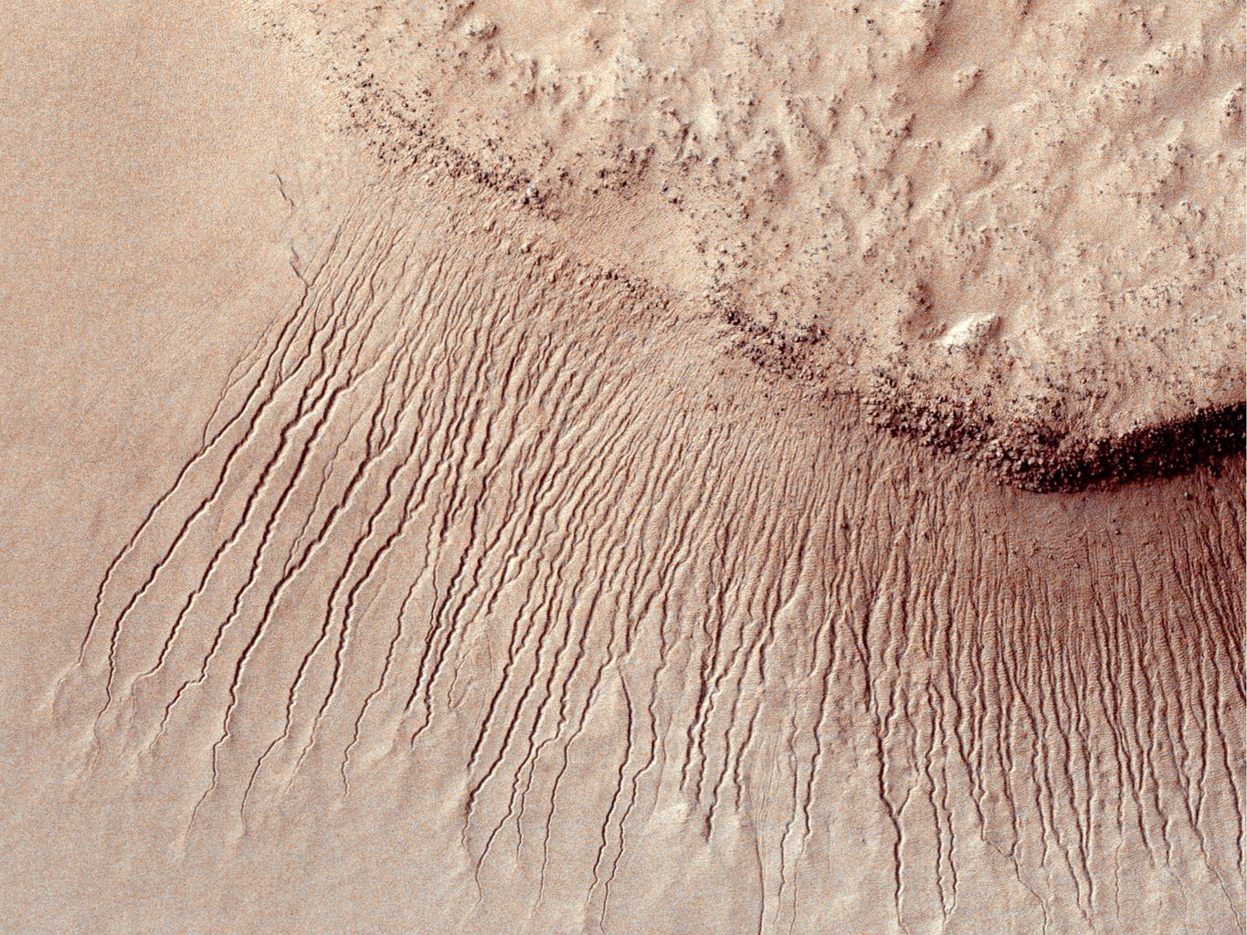 What could explain the mystery of how land formed on Mars without ...
