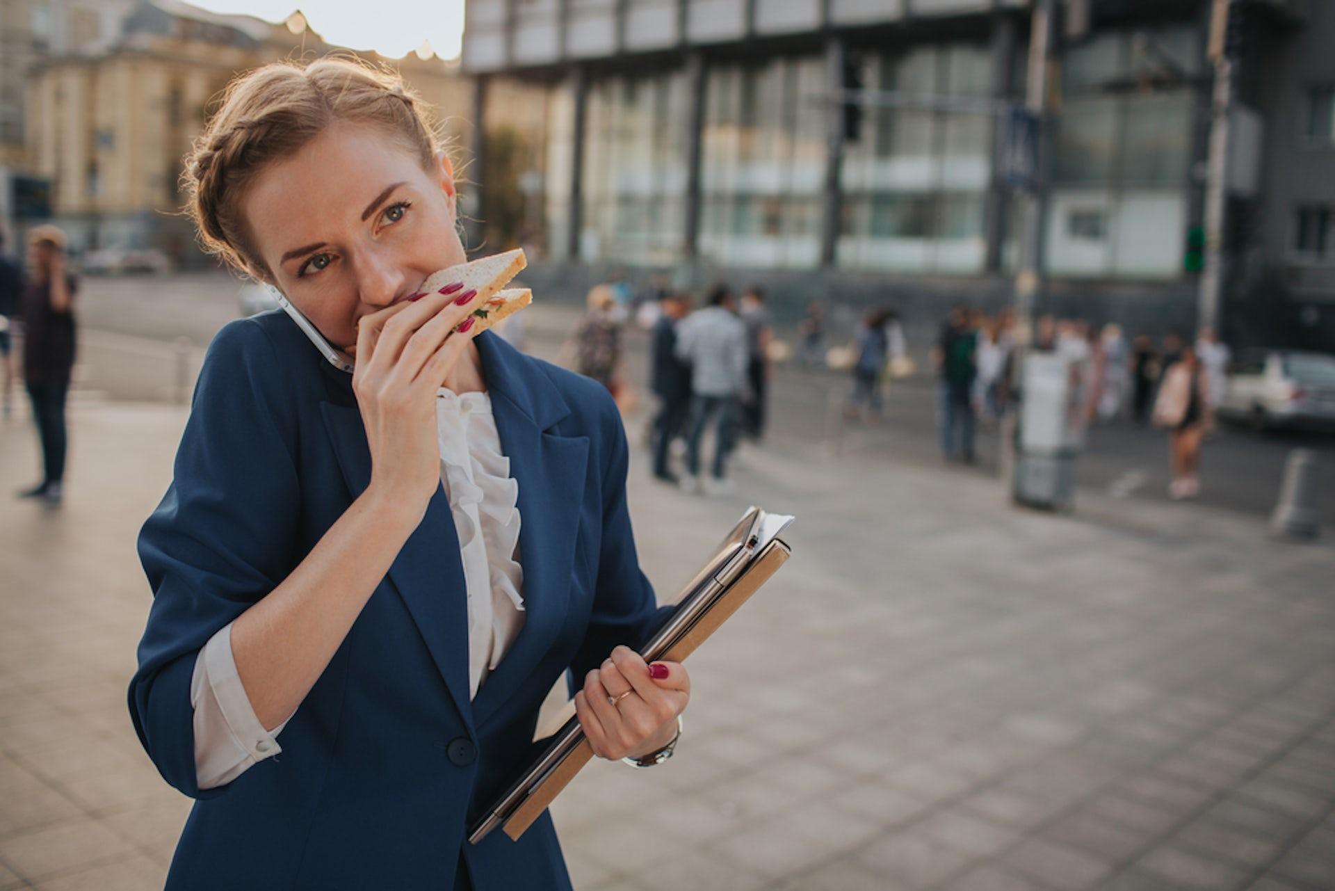 The way we eat now. Estrada Anton/Shutterstock