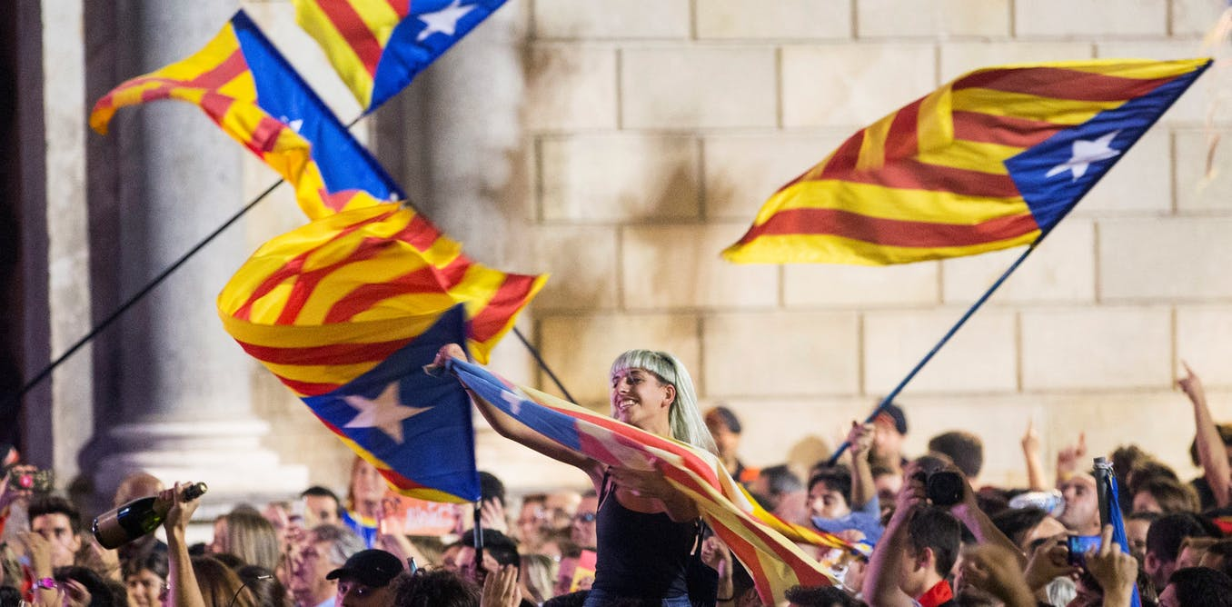Self-determination is legal under international law - it's hypocritical to argue otherwise for Catalonia