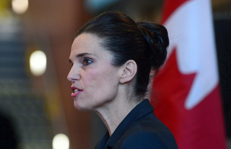 Science Minister Kirsty Duncan has come under fire for failing to implement the Naylor report. (THE CANADIAN PRESS/Sean Kilpatrick)