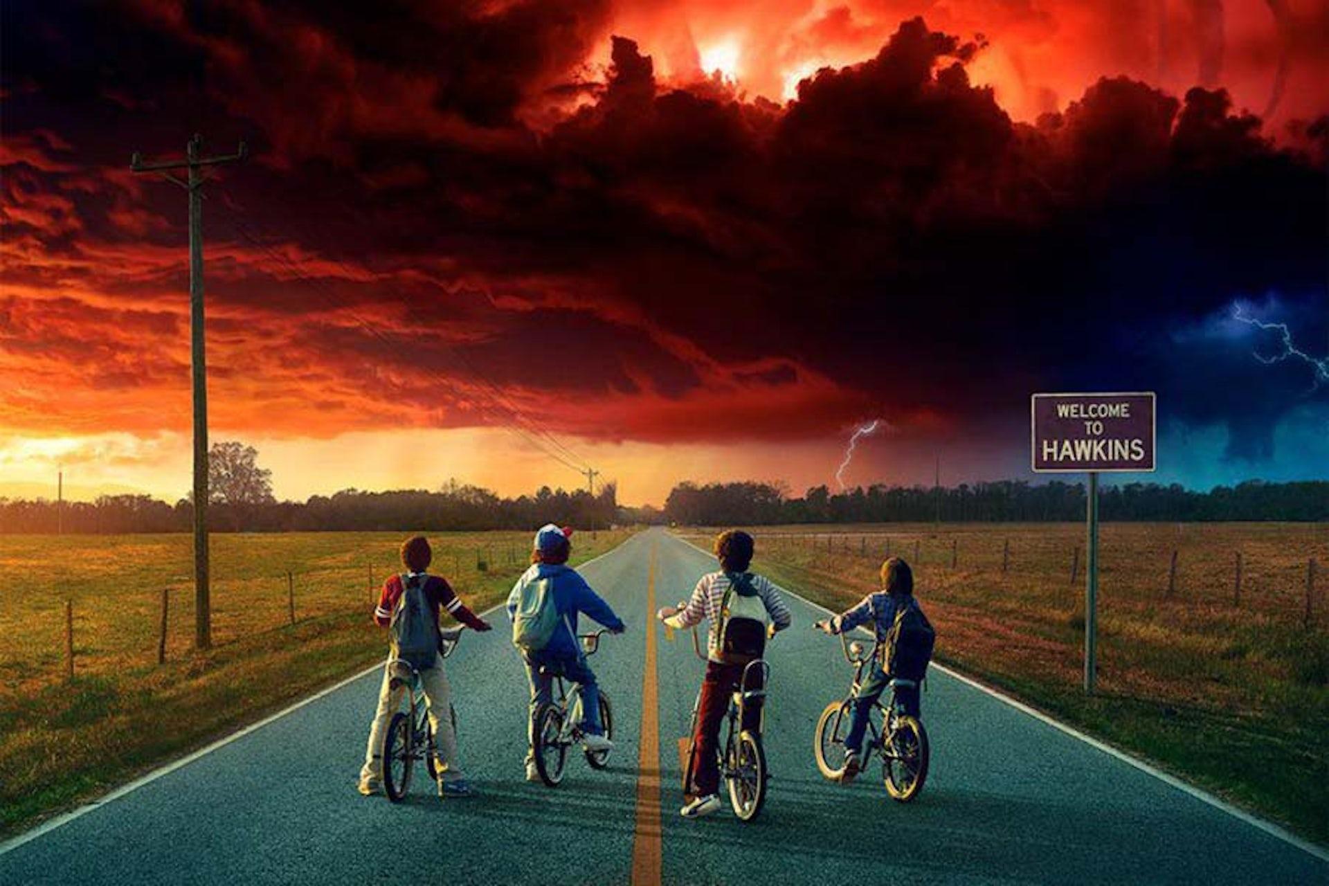 Affiche promotionnelle de « Stranger Things » saison 2