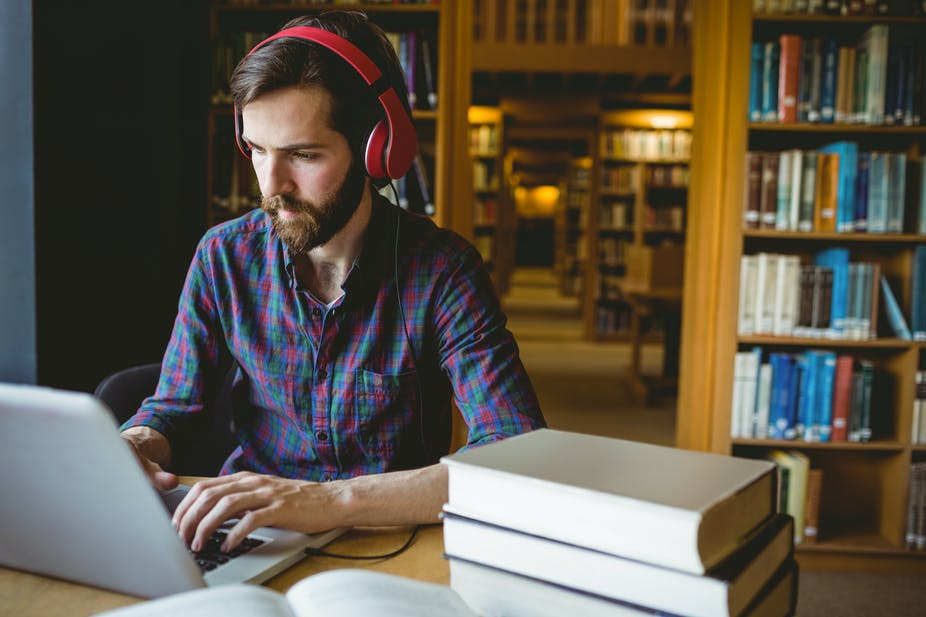 Music only helps you concentrate if you're doing the right