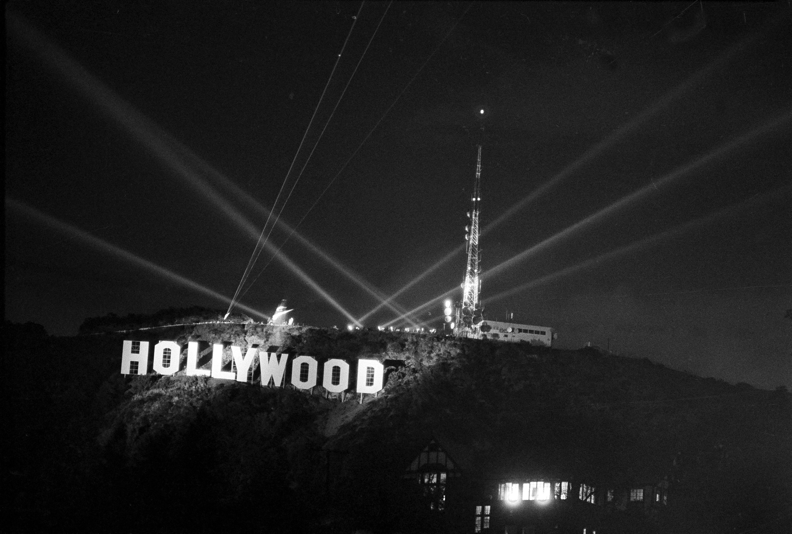 the history of the hollywood sign  from public nuisance to