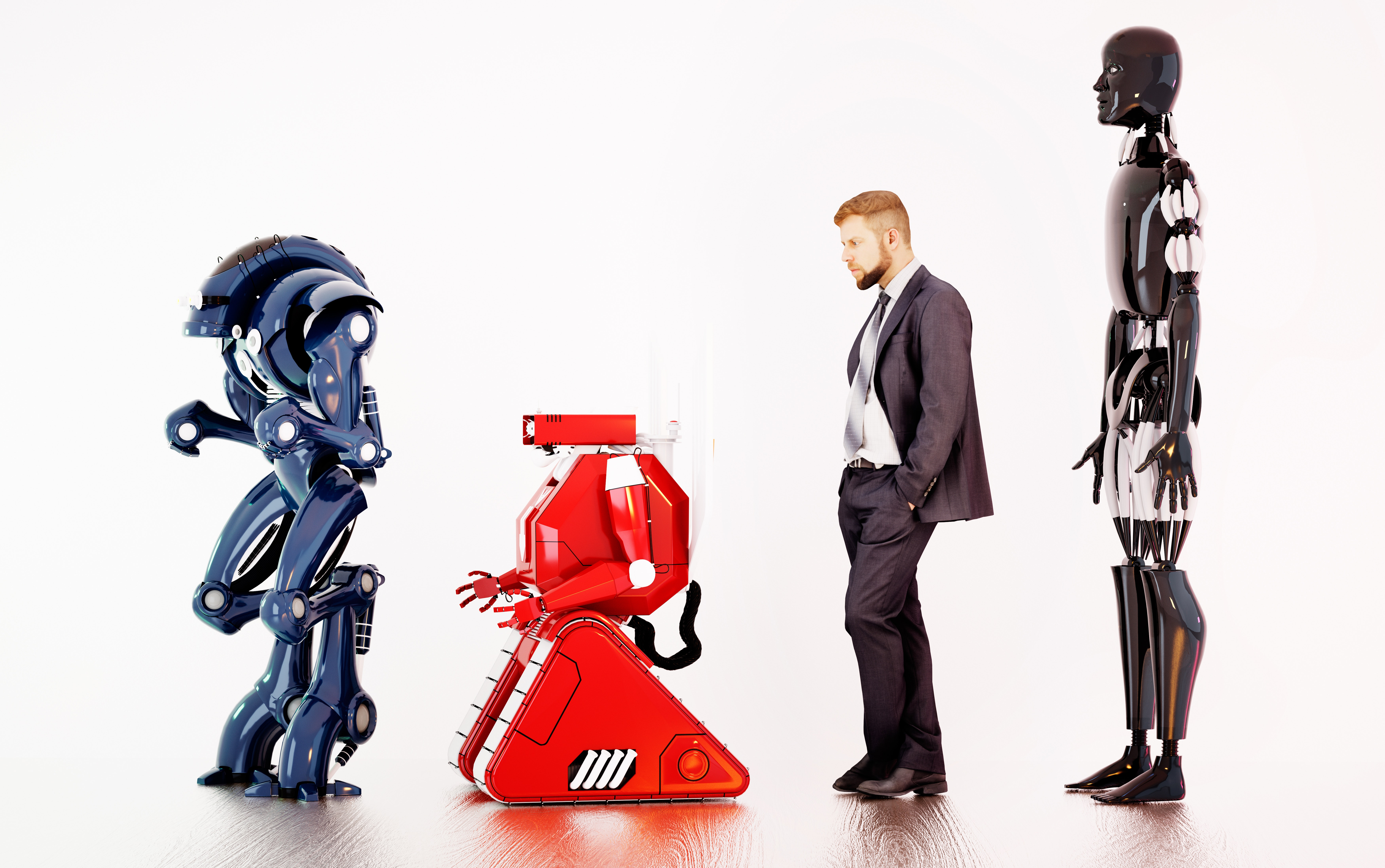 Jobs And Robots Bracing For Technological Disruptions To Come