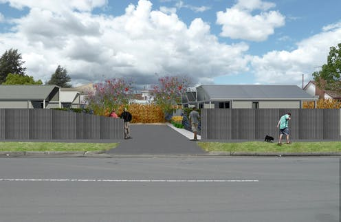 Portable units and temporary leases free up vacant land for urgent