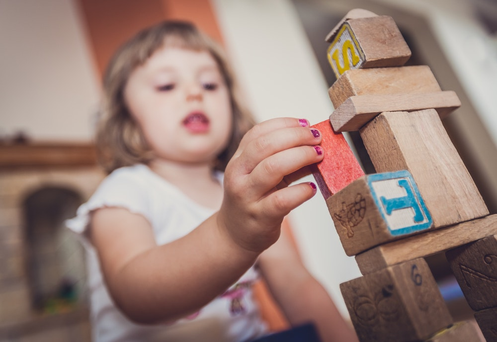 blocks are still the best toy you can buy your child.