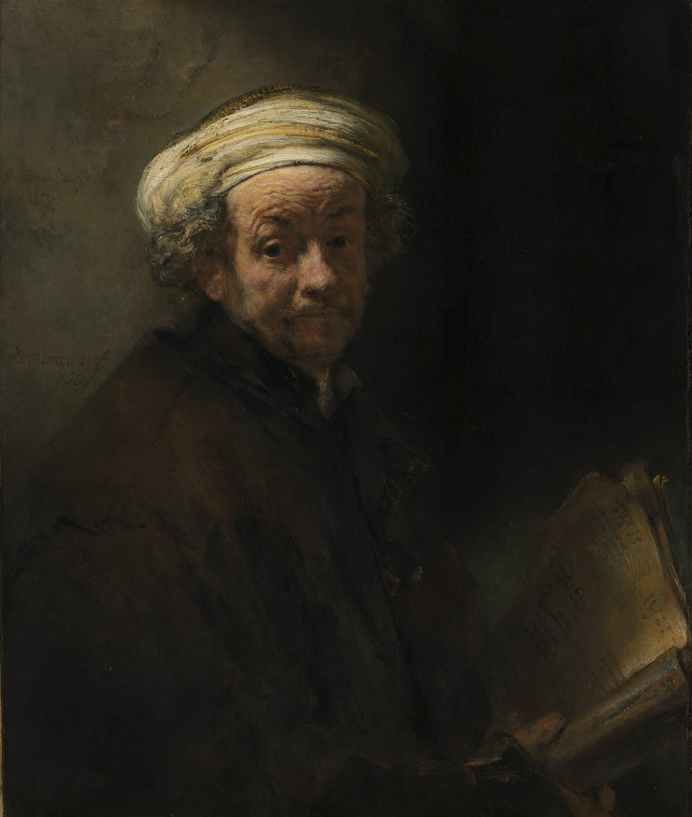 rembrandt capitalism and great art the dutch golden age comes to  rembrandt harmensz van rijn self portrait as the apostle paul 1661 oil on canvas 91 x 77 cm rijksmuseum de bruijn van der leeuw bequest muri