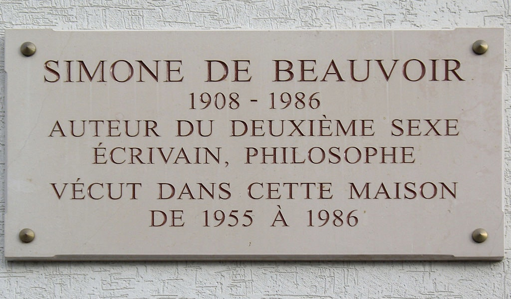 Had Simone de Beavoir been 200 years older, she'd have been une philosophesse, une écrivaine or, at the very least, une écrivaine. Credit: Wikimedia Commons