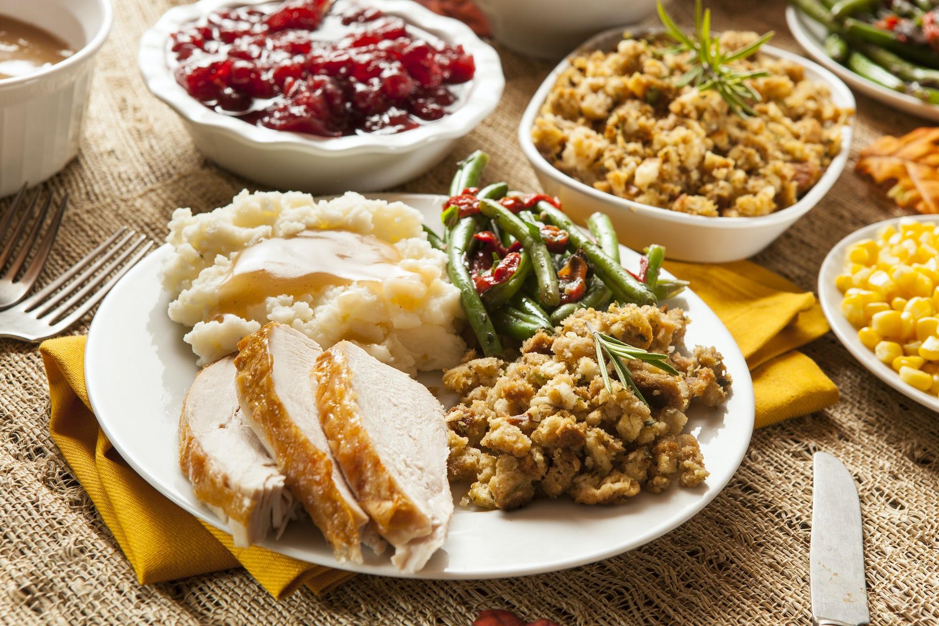 turkey dinner Thanksgiving tryptophan