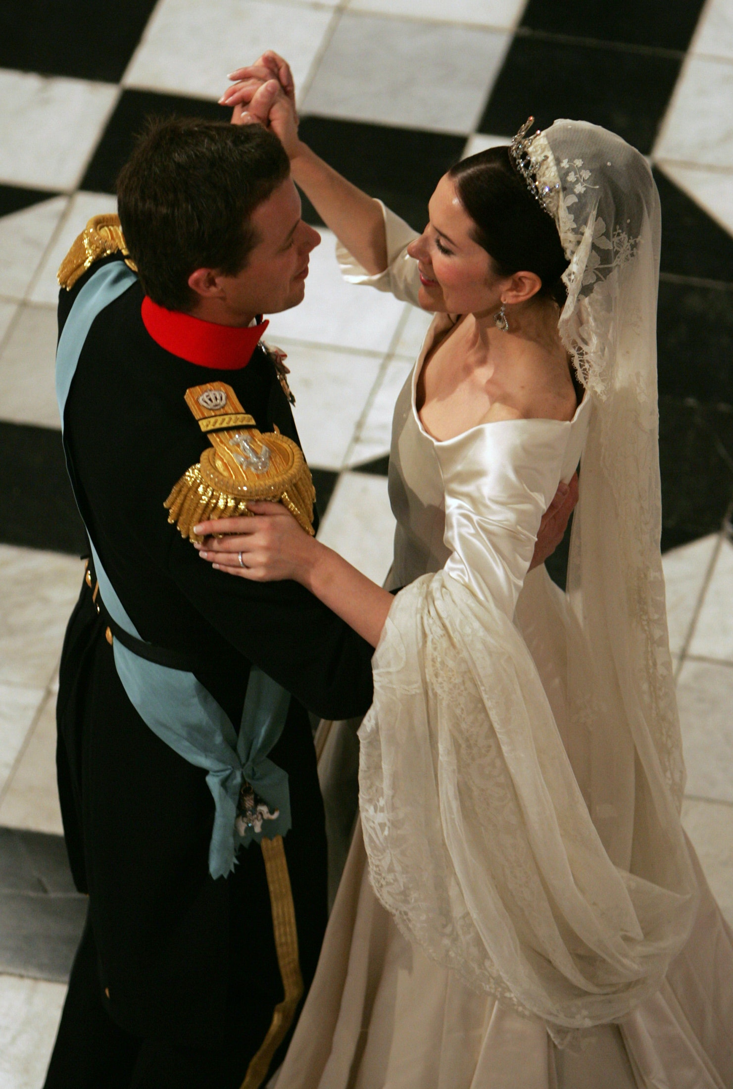 Prince Frederik and Princess Mary.