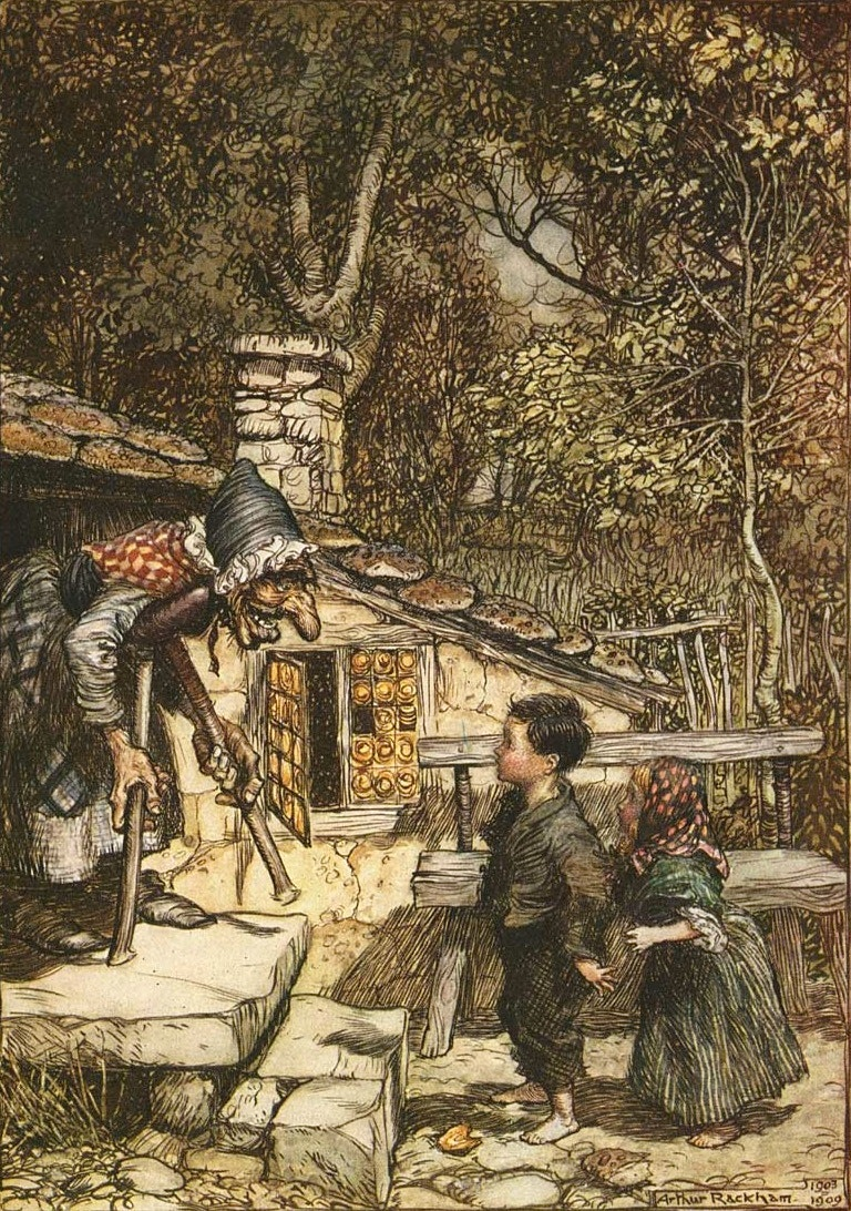 Picture of Hansel and Gretel by Arthur Rackham