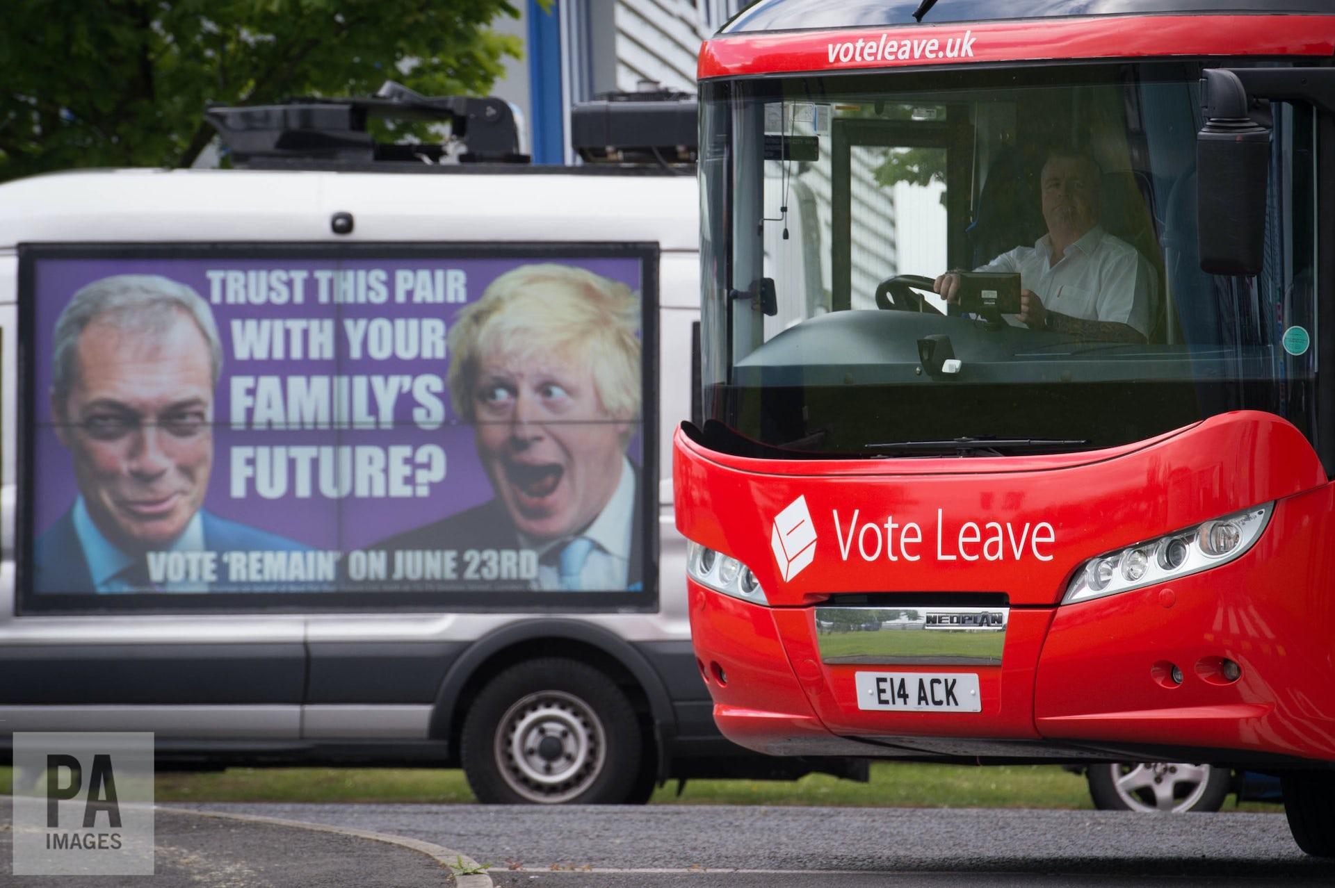 Vote Leave Under Investigation For Breaking Electoral Law During EU Referendum