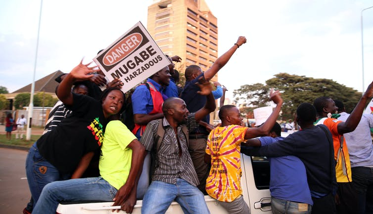 Zimbabweans must draw on years of democratic struggle to stop a repeat of Mugabe's militarism