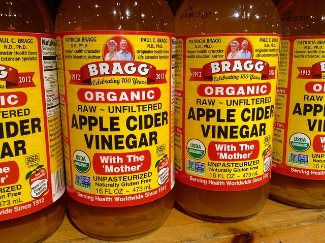 Picture of apple cider vinegar