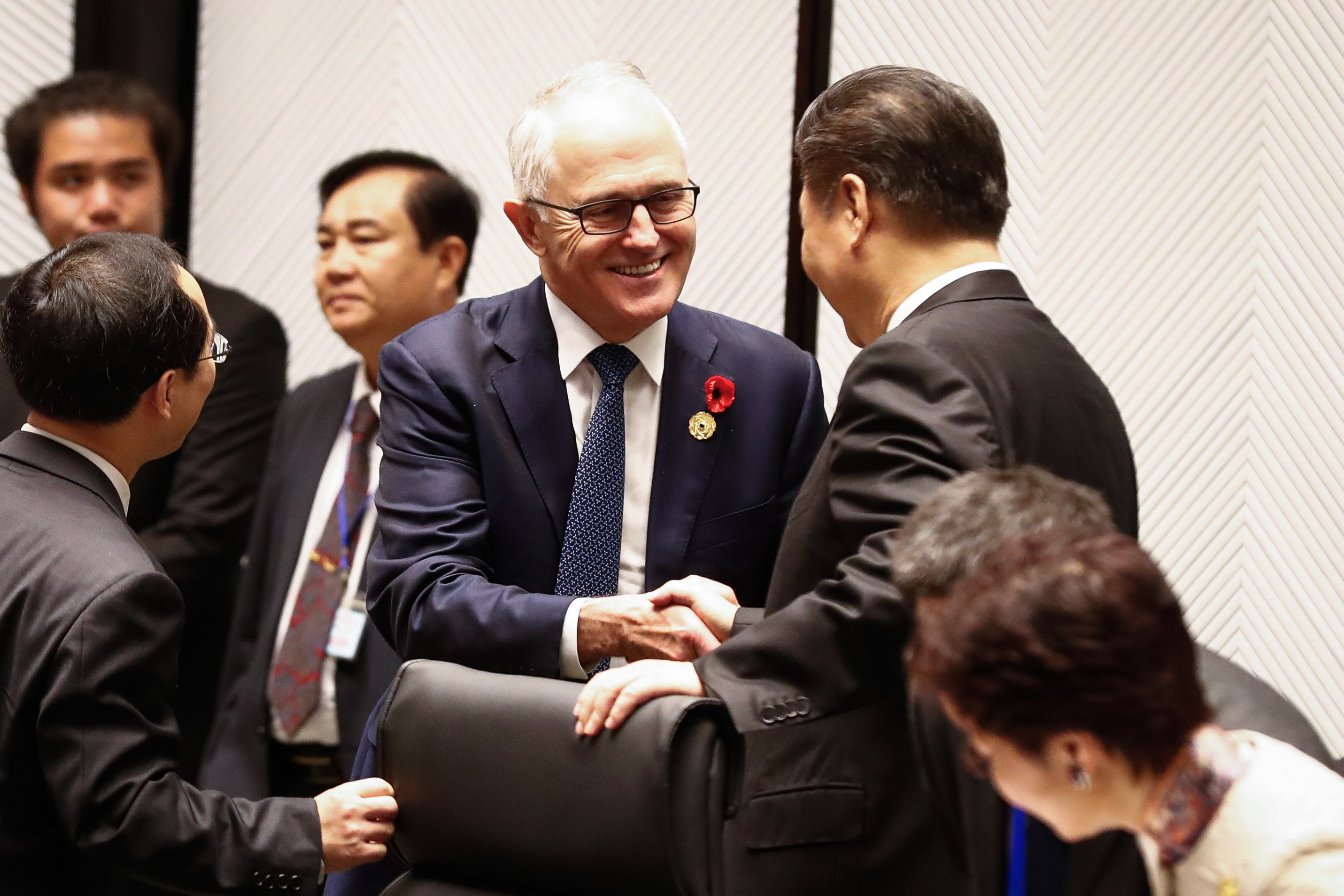China warns Australia to not take sides