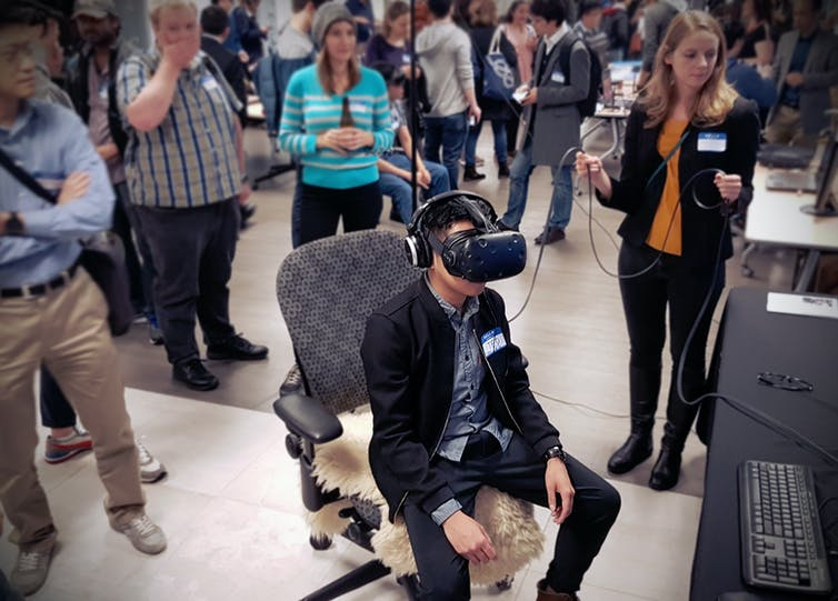 Inspired, magical, connected: How virtual reality can make you well