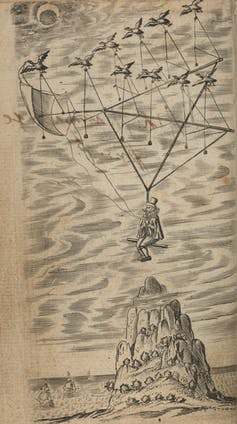 Flying Chariots And Exotic Birds How 17th Century Dreamers Planned To Reach The Moon