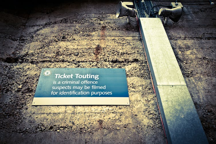 How to crack down on the scourge of ticket touting