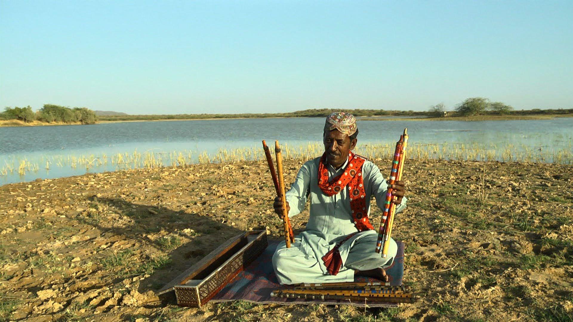 Noor Mohammed Sodha, Master flautist from Bhuj. Credit: KP Jayasankar