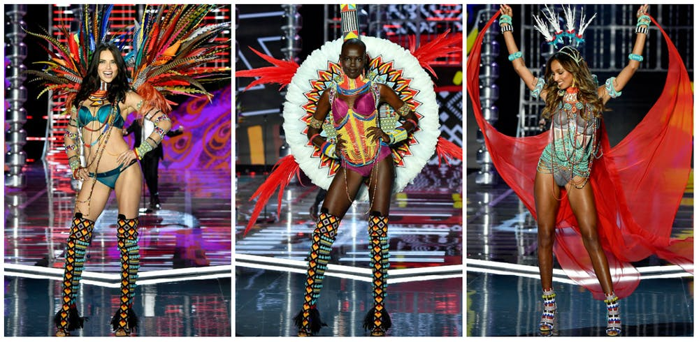A preview of looks from the Victoria's Secret runway show Nomadic Adventure on November 20. (Handout)