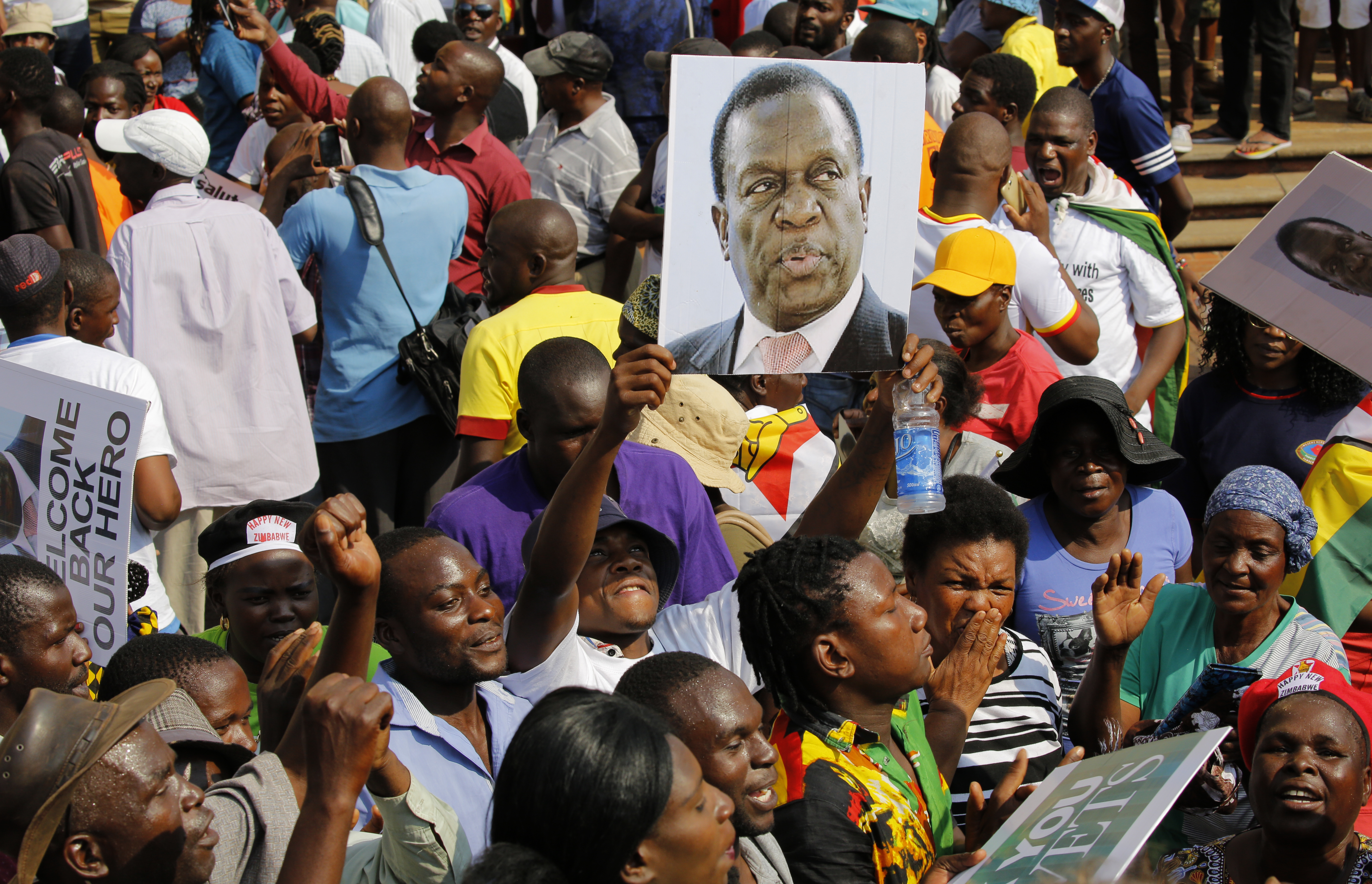 Zimbabwe's president Emmerson Mnangagwa appoints military officials to cabinet posts