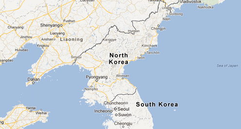 Google S Map Of North Korea Stirs Social Media Passion And Tensions