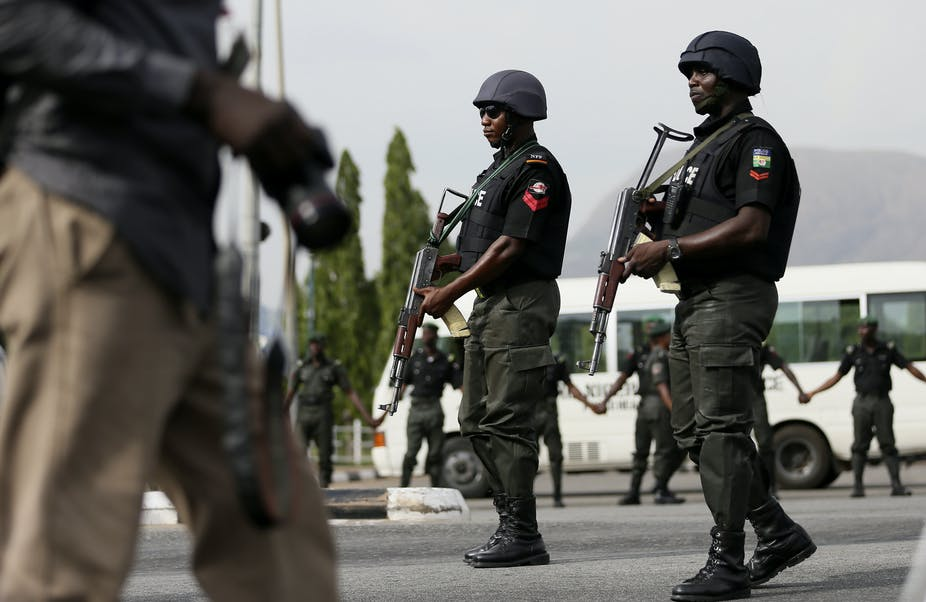 Image result for images of Police officer allegedly kills man at a wedding ceremony in Nigeria