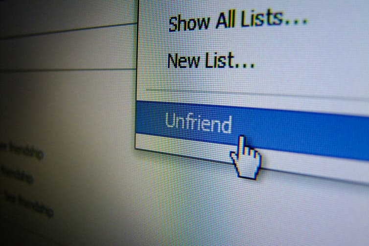 When should you unfriend someone on Facebook?