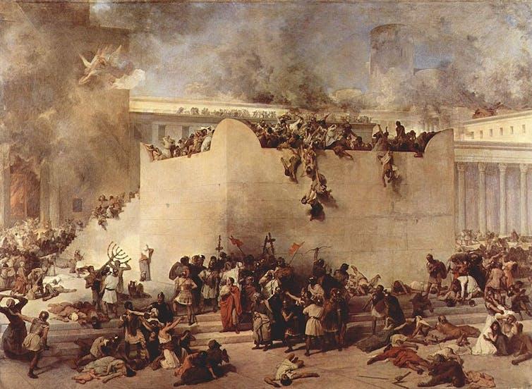 Second Temple Jerusalem Jewish history Hanukkah