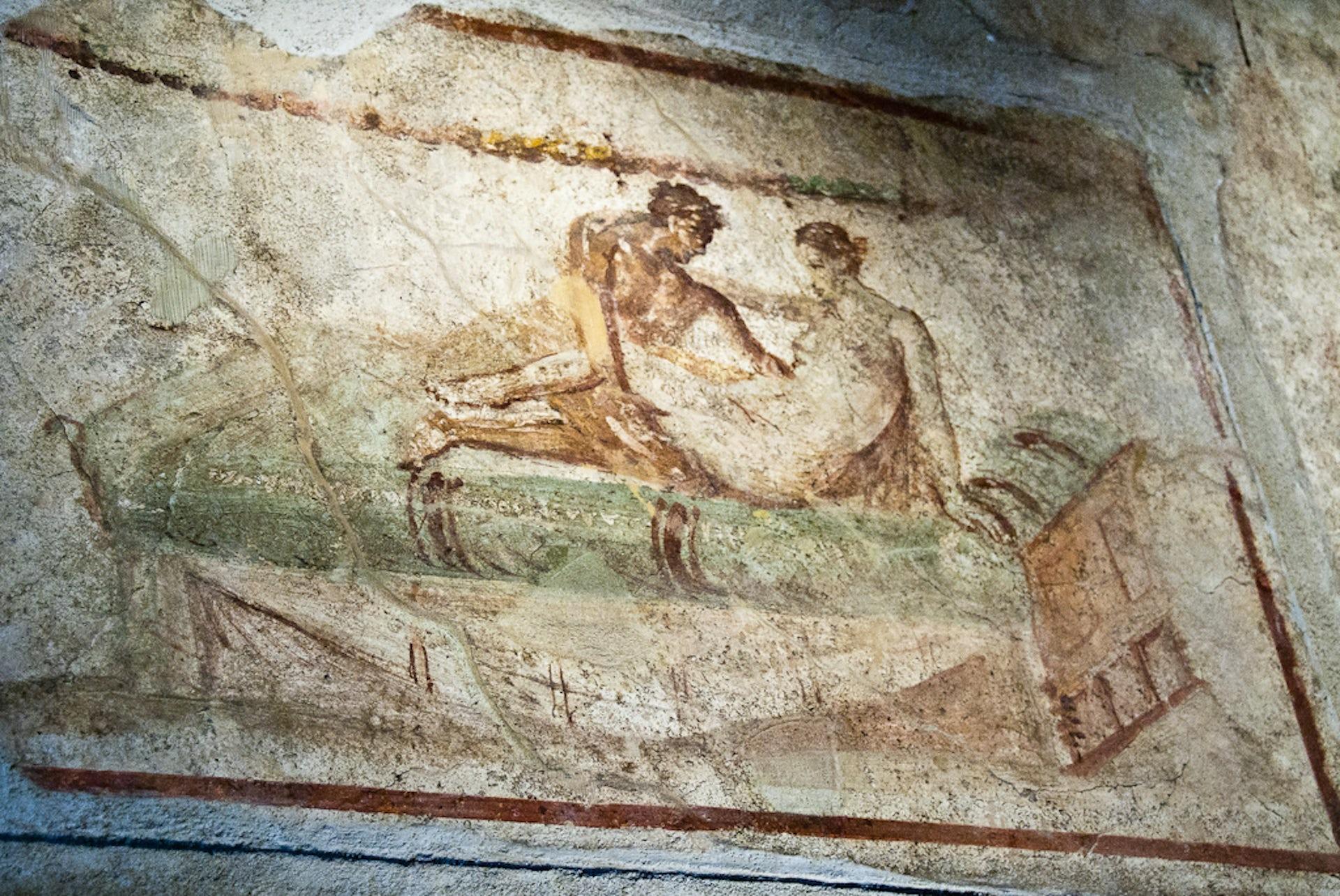 Erotic frescos of pompeii