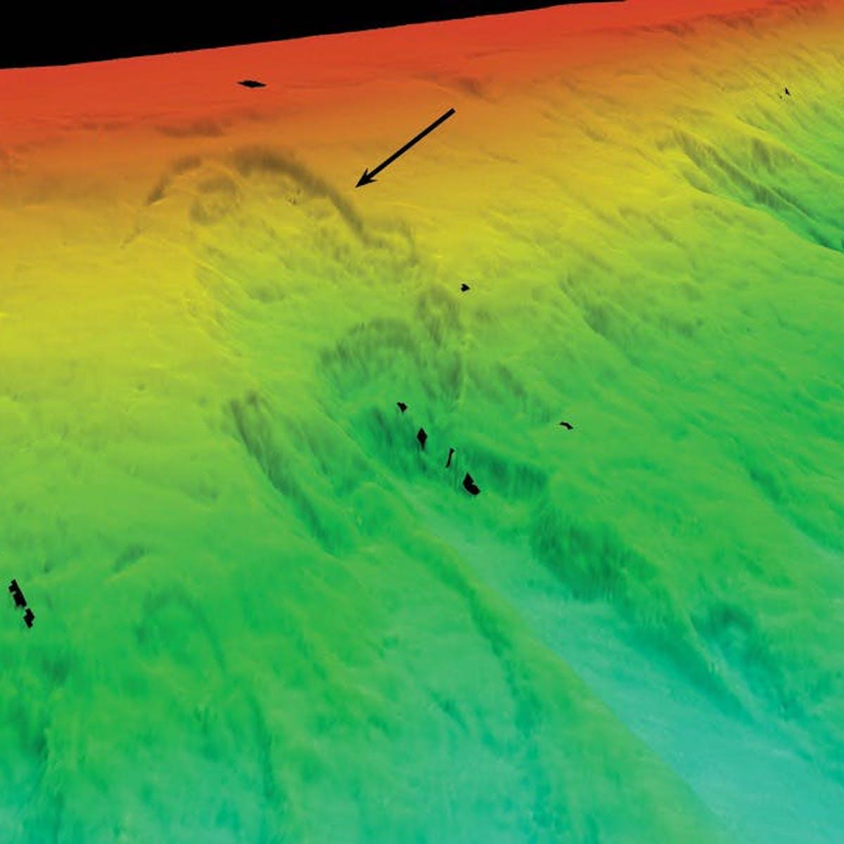 Scars left by Australia's undersea landslides reveal future